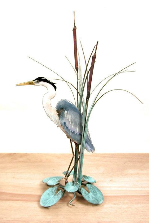 Bovano - Table Top Blue Heron