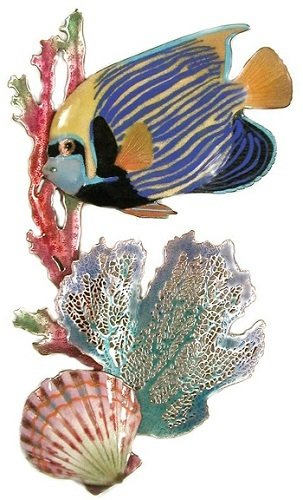 Bovano - Angelfish with Coral