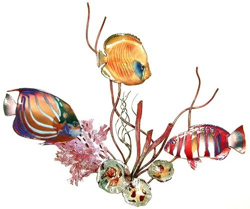 Bovano - Fish in Coral with Shells