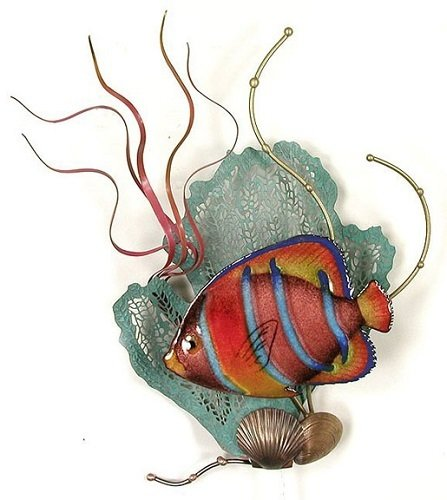 Bovano - King Angelfish with Sea Fan