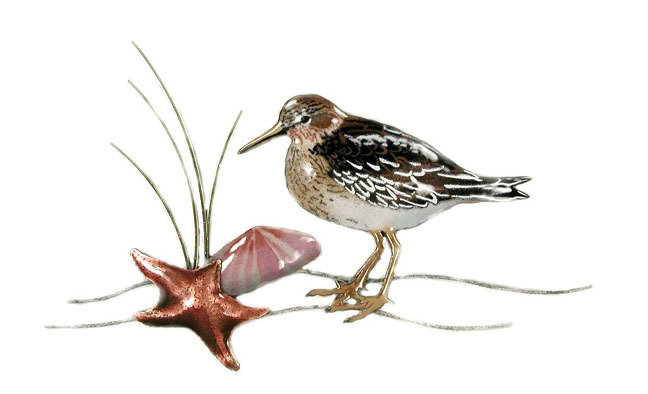 Bovano - Sandpiper with Starfish and Clam