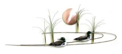 Bovano - Grasses with Ducks, Egrets, Herons or Sandpipers