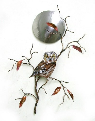 Bovano - Owl with Moon