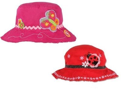 Cap - Butterfly or Ladybug Bucket Hat