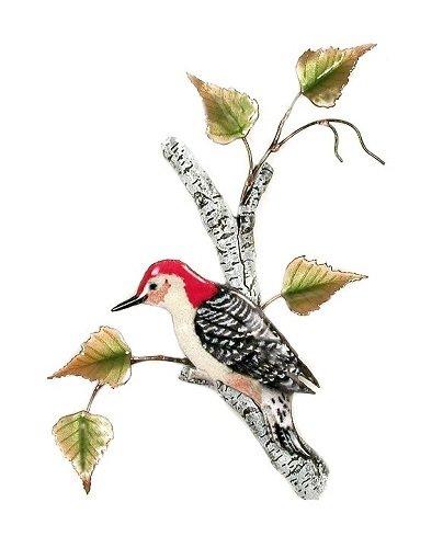 Bovano - Woodpecker on Birch
