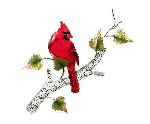 Bovano - Cardinal or Blue Jay on Birch