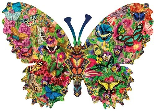 Puzzle - Butterfly Menagerie
