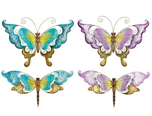 Wall Art - Large Glass Butterfly or Dragonfly