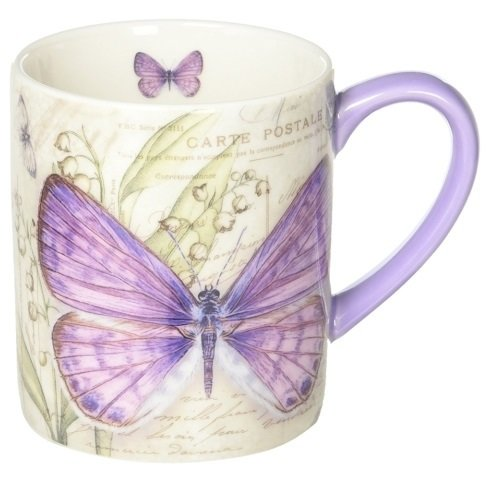 Mug - Lavender Butterfly