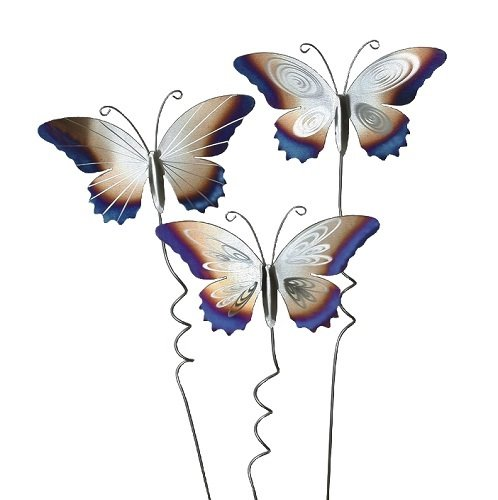 Stainless Steel Butterfly Stakes