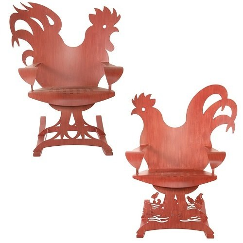 Chair - Rooster or Hen Rocking