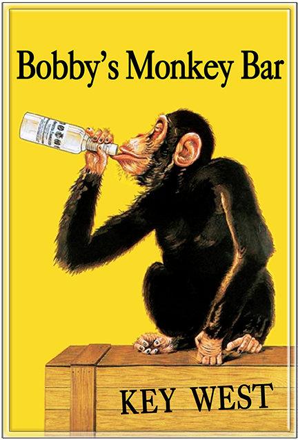 BOBBY'S MONKEY BAR * 8'' x 11''