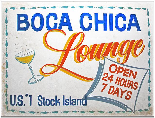 BOCA CHICA LOUNGE * 8'' x 11'' 10012