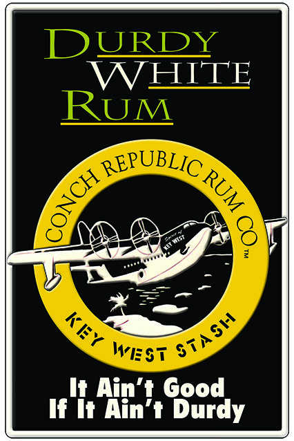 DURTY WHITE RUM * 7'' x 11'' 10021