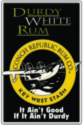 DURTY WHITE RUM * 7'' x 11''
