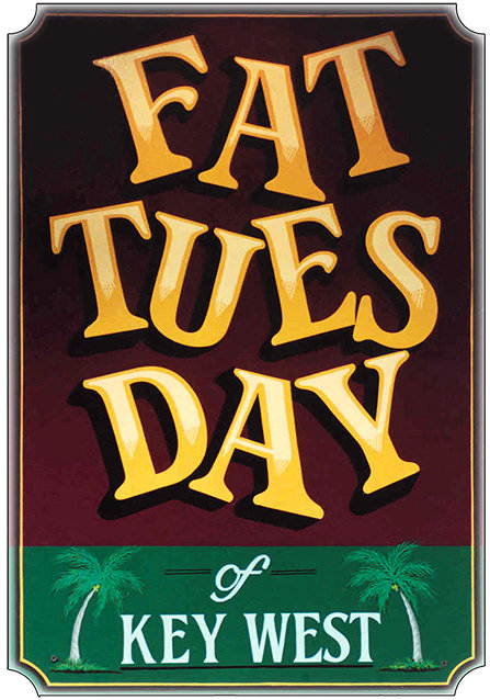FAT TUESDAY * 7'' x 11'' 10026