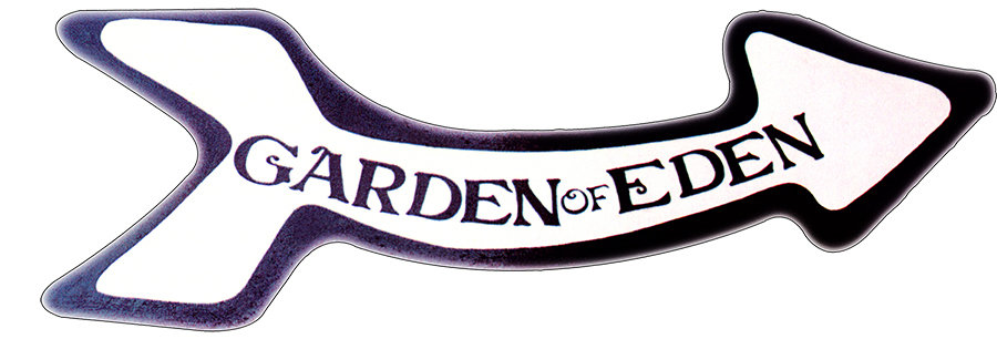 GARDEN OF EDEN ARROW * 5'' x 16'' 10033