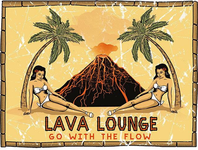 LAVA LOUNGE * 8'' x 11'' 10051