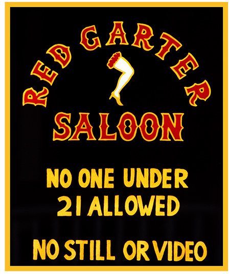RED GARTER SALOON 21 * 8'' x 11'' 10067