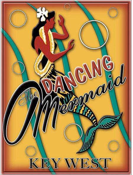 DANCING MERMAID * 8'' x 11'' 10090
