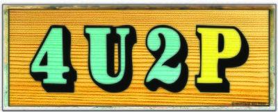 4U2P SIGN * 4