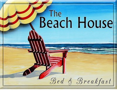 THE BEACH HOUSE * 8'' x 11''