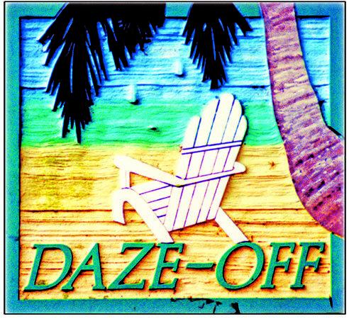 DAZE-OFF * 8'' x 8''