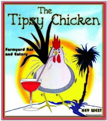 TIPSY CHICKEN * 8'' x 11''