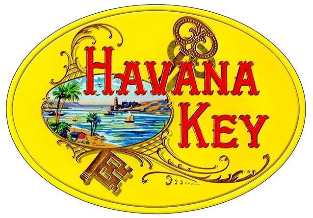 HAVANA KEY * 7'' x 11'' 10156