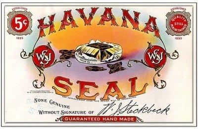 HAVANA SEAL * 7'' x 11''