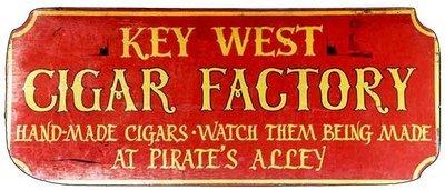KEY WEST CIGAR FACTORY * 4'' x 11''