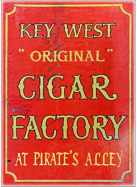 KEY WEST CIGAR FACTORY 2 * 7'' x 11'' 10159