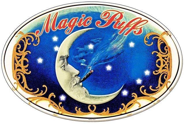 MAGIC PUFFS * 7'' x 11'' 10164