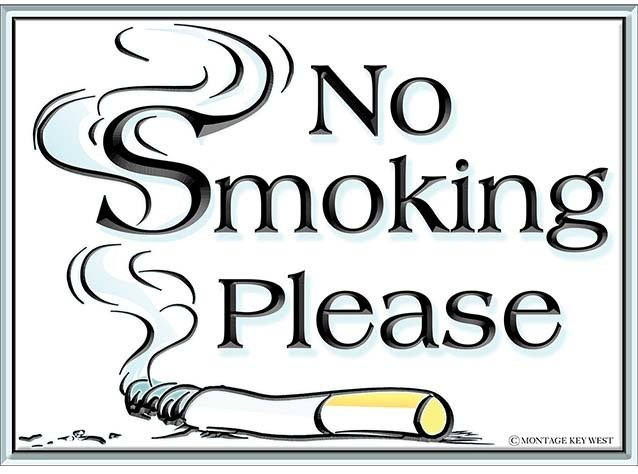NO SMOKING PLEASE * 8'' x 11'' 10166
