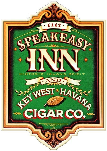 SPEAKEASY INN AND CIGAR CO. * 8'' x 11'' 10168