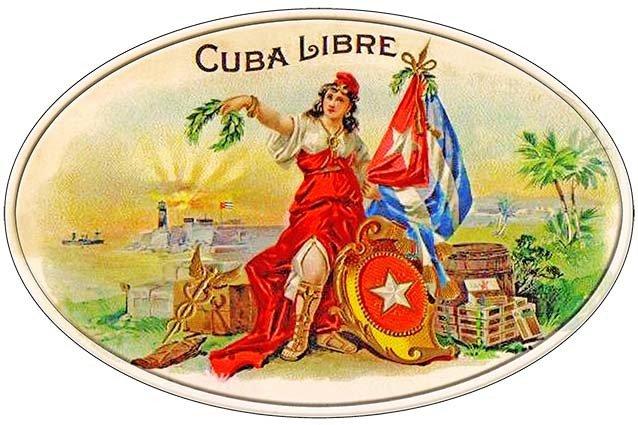 CUBA LIBRE CIGARS * 7'' x 11'' 10177