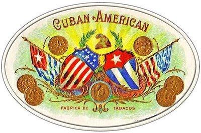 CUBAN AMERICAN CIGARS * 7'' x 11''