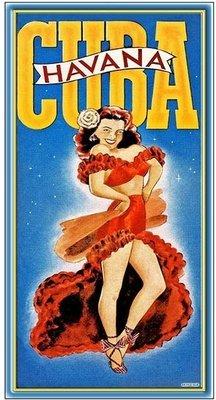 HAVANA CUBA DANCER * 6'' x 11''