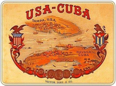 USA-CUBA * 8'' x 10''