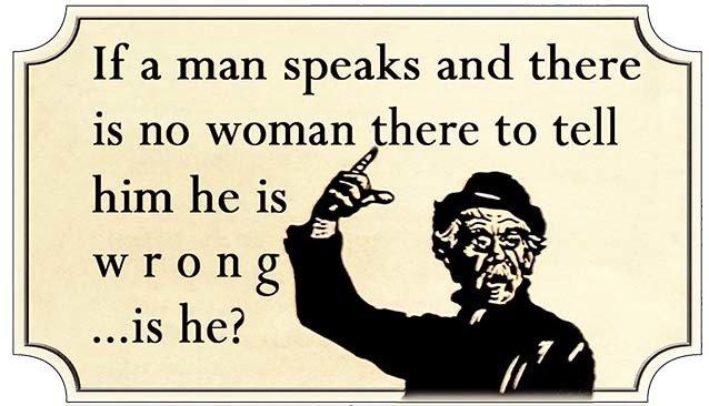 IF A MAN SPEAKS * 5'' x 11'' 10207