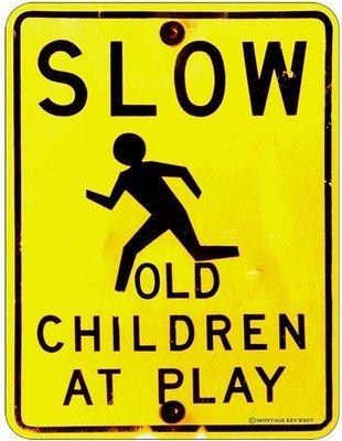 SLOW OLD CHILDREN 1 * 8'' x 11''
