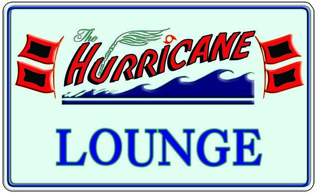 HURRICANE LOUNGE * 6'' x 11'' 10257