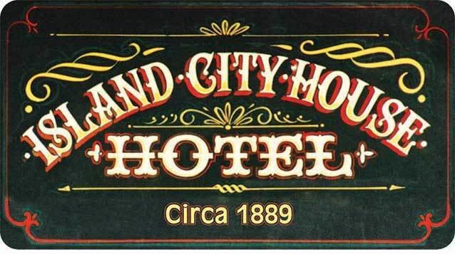 ISLAND CITY HOUSE HOTEL * 5'' x 11'' 10262