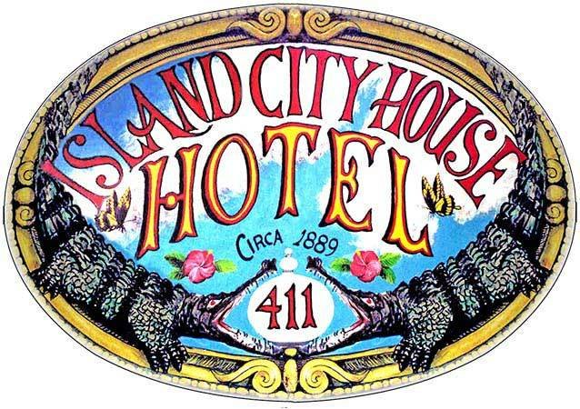 ISLAND CITY HOUSE HOTEL 2 * 8'' x 11'' 10263