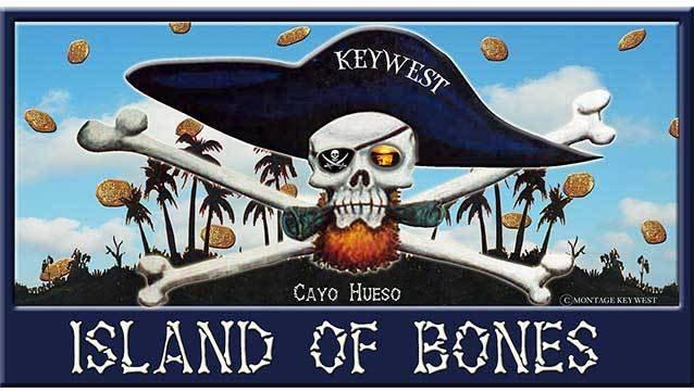 ISLAND OF BONES * 6'' x 11'' 10266