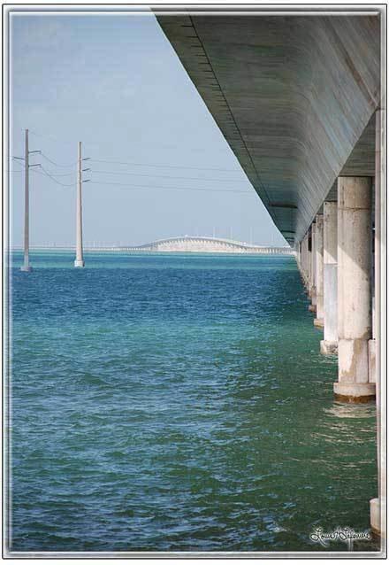 7 MILE BRIDGE  * 7'' x 11''