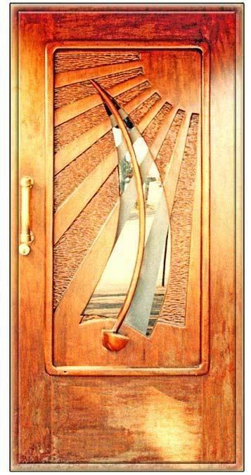 SAILBOAT DOOR * 3'' x 11'' 10285