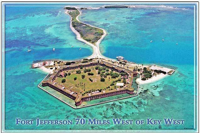 FORT JEFFERSON ARIAL * 6'' x 11'' 10291