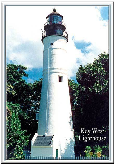 KEY WEST LIGHTHOUSE * 6'' x 11'' 10297