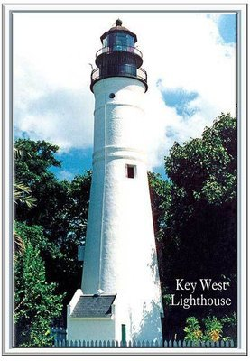 KEY WEST LIGHTHOUSE * 6'' x 11''